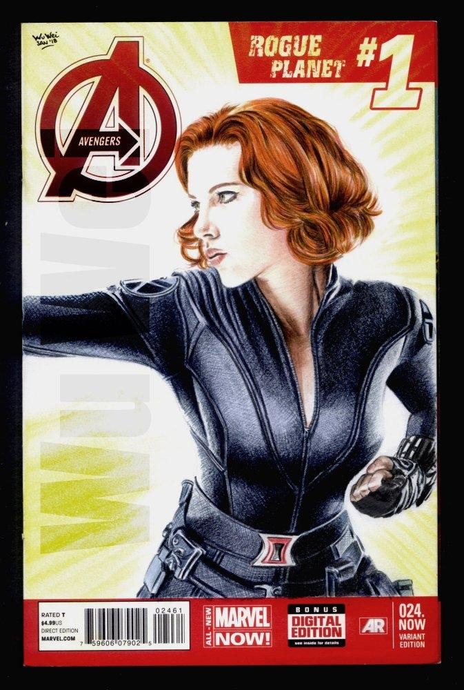 Scarlett Johansson by wu-wei